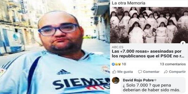 """David Roig (Podemos), sobre las monjas asesinadas en la II República: """"Qué pena, deberían haber sido muchas más"""""""