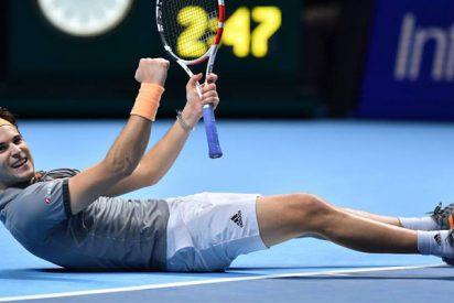 Un feroz Thiem se mete en semifinales del Masters tras una batalla sin piedad con el maestro Djokovic