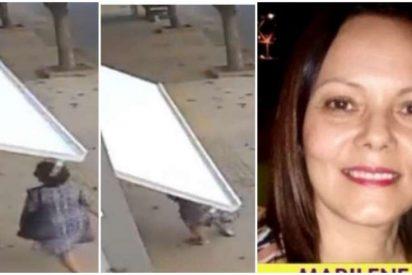 Vídeo Viral: el misterio de la mujer a la que se 'tragó' un garage