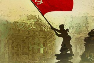Vídeo viral: Izquierda Unida muestra en su cuenta de Twitter este vídeo haciendo 'apología' de la bandera comunista y Sánchez lo permite