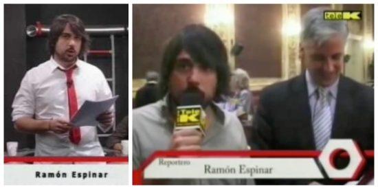 El Extintor recuerda cuando Espinar ejercía de lustrabotas de los esbirros de Evo Morales hoy fugados de Bolivia tras arruinar el país