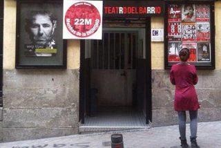 Un teatro subvencionado por la Comunidad y el Ayuntamiento de Madrid acoge un aquelarre de la golpista ANC catalana