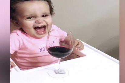 Vídeo Viral: el bebé borrachuzo