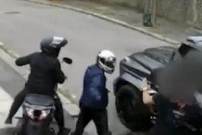 Vídeo viral: La escena completo del intento de robo a Mesut Ozil y la increíble reacción de su compañero Kolasinac