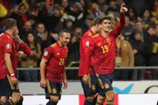 Eurocopa: España va como cabeza de serie tras arrollar a una Rumanía de patio de colegio (5-0)