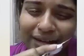 Esta mujer bangladesí se graba a escondidas pidiendo socorro por ser torturada en Arabia Saudita