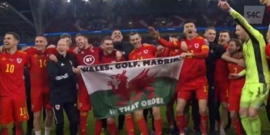 Bale falta el respeto al madridismo con esta pancarta intolerable: «Gales, golf, Madrid… en ese orden»
