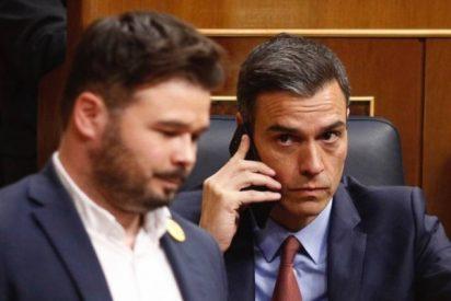 """Los indepes de ERC no van a exigir que Sánchez se baje los pantalones: """"Los tiene ya dobladitos y en el antebrazo"""""""