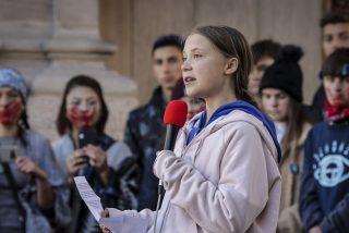 Greta Thunberg es una 'viajera del tiempo' y hay pruebas