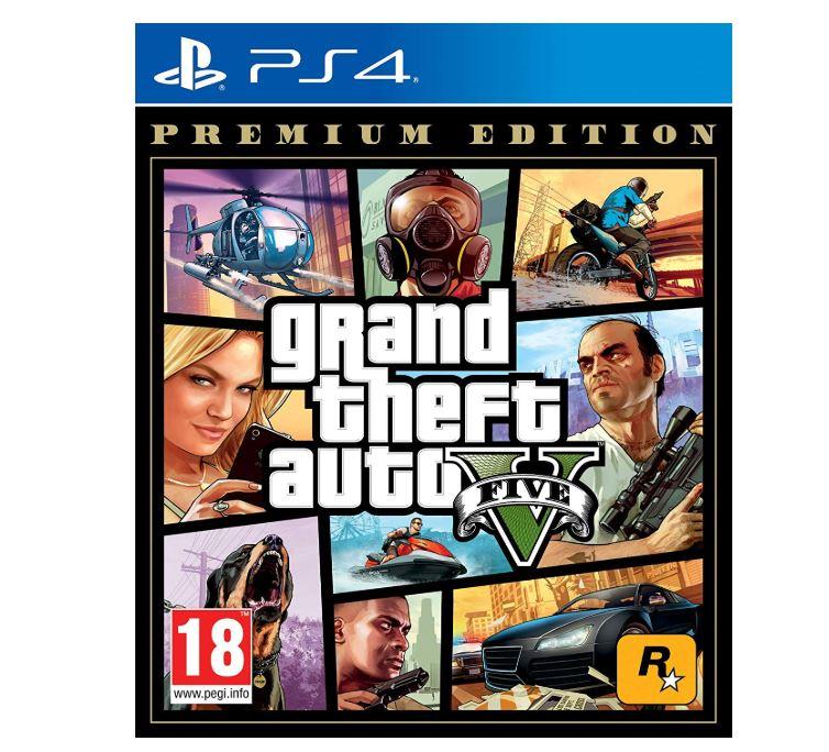 """Grand Theft auto V para PS4""""]"""
