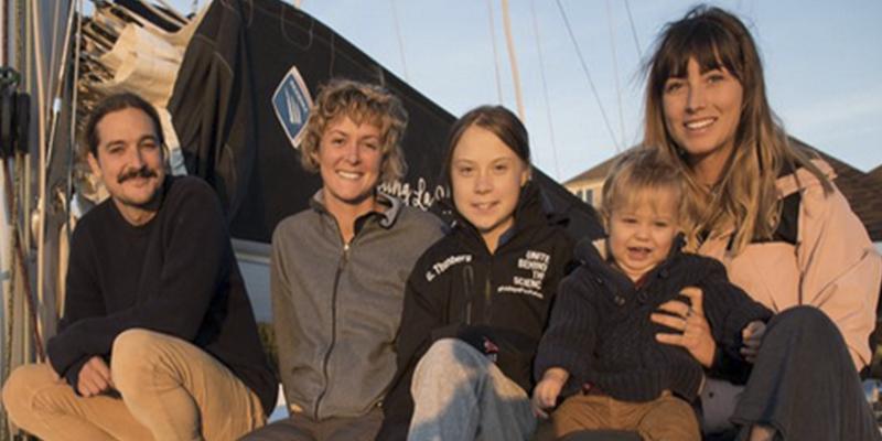 ¡Pillada!: Greta ha contaminado más a bordo del catamarán que si hubiera venido de América en avión