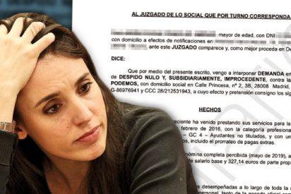 La Asociación de Escoltas denuncia a Irene Montero por la contratación irregular de trabajadores para obligarles a hacer tareas domésticas