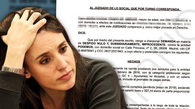 Irene Montero paga un pastizal a su exescolta para eludir la foto que habría estropeado su estreno ministerial