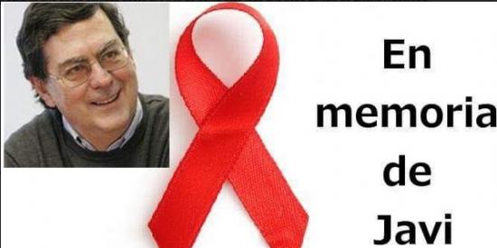 """José Luis Úriz Iglesias: """"1-D. Continuemos la lucha contra el SIDA! En memoria de mi hermano Javi, siempre en mi recuerdo"""""""