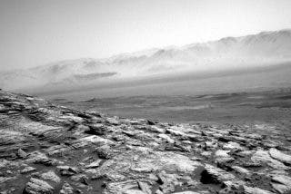 Universo: La nueva e impresionante foto del Planeta Marte enviada por el Curiosity