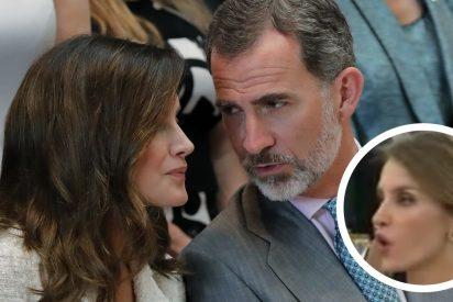 Cuando Letizia le soltó a Felipe un real e inequívoco 'jodete'