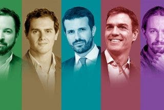 (FOTOS) Así eran de pequeños los candidatos a presidente del Gobierno de España