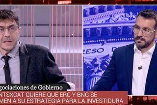 Monedero se pasea por TVE como Pedro por su casa y se mofa de la situación del ente público:
