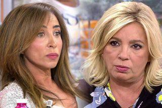 María Patiño 'destroza' a Carmen Borrego cargando ferozmente contra ella desde 'Sálvame'