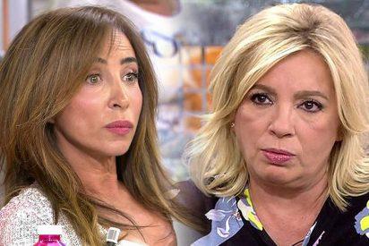 Jorge Javier Vázquez: ¡Guerra abierta entre Carmen Borrego y María Patiño! ¿Quién tiene más que perder?