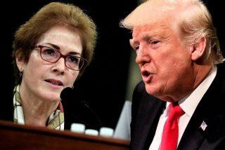 Donald Trump tuitea en directo y llama 'incompetente' a la ex embajadora de EEUU en Ucrania,  mientras Marie Yovanovitch declaraba contra él en el Congreso