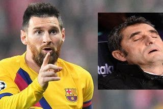 Twitter se cachondea de Valverde y el Barça, tras el naufragio de Messi y sus colegas frente al Levante
