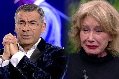 Mila Ximénez se rompe al enterarse de la preocupante noticia que dio Jorge Javier Vázquez