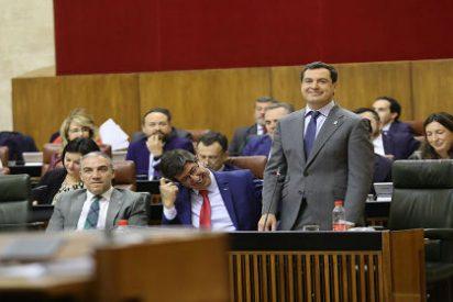 """Andalucía se muestra como una """"isla de estabilidad"""" frente al riesgo """"progre"""""""