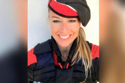 Esta es la mosso Olga, la hija del policía nacional acosada por su jefe hasta dejarla sin arma y sin placa