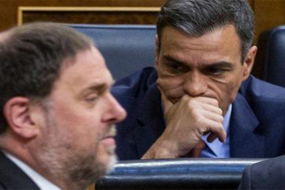 """Junqueras 'traduce' a los silentes socialistas de qué va su pacto con Sánchez: """"Amnistía y referéndum"""""""
