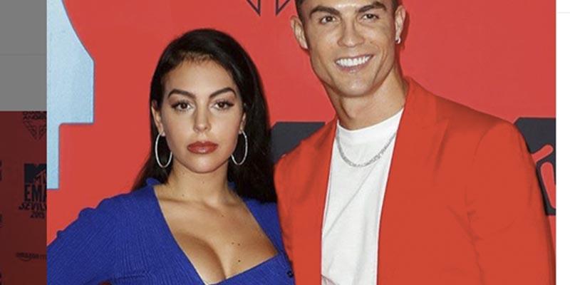 Georgina y Cristiano van a los Premios MTV vestidos de Parchís…