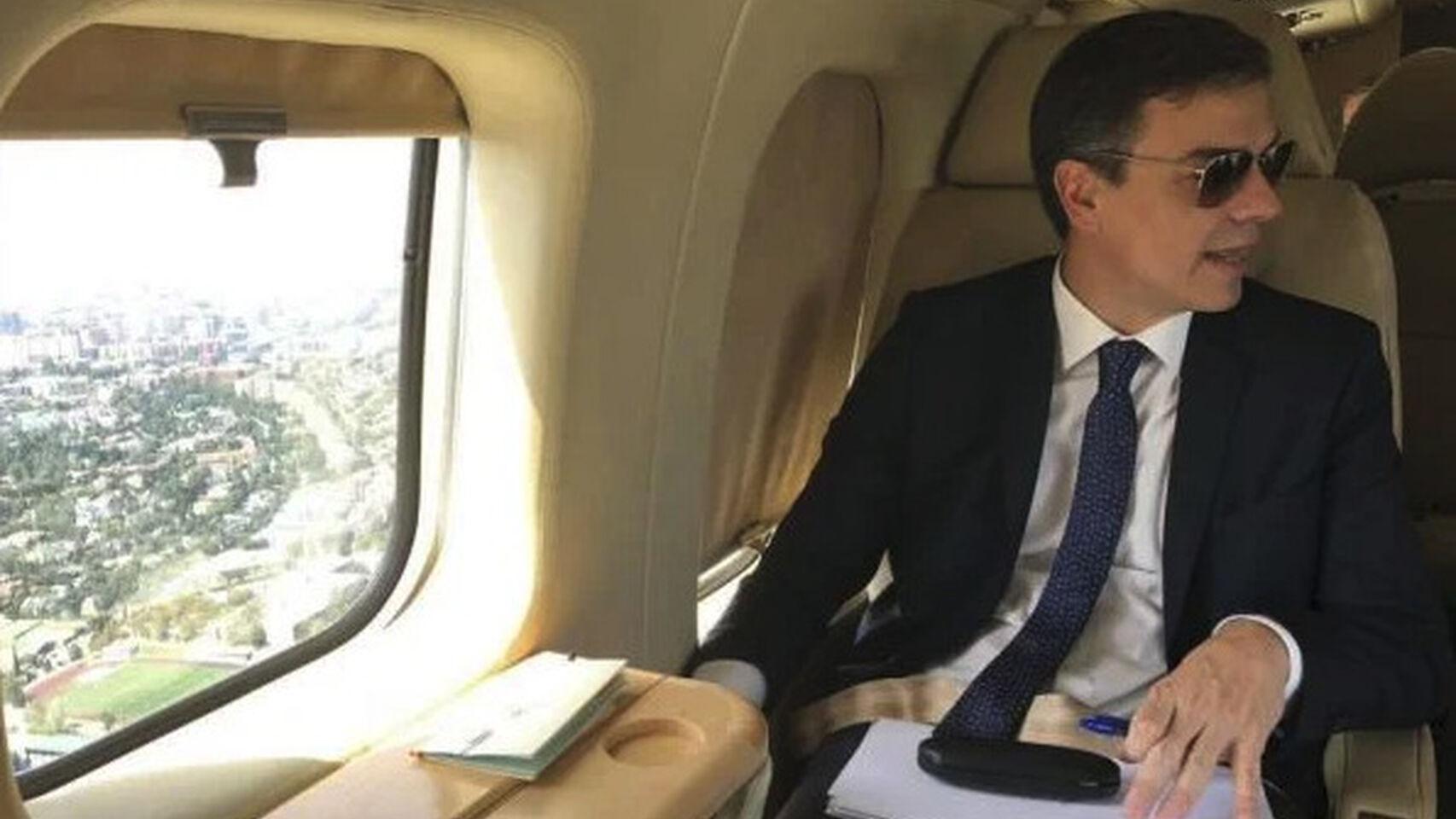 Pedro Sánchez, alias 'Doctor Plagio', se inventa ahora un fallo en el avión oficial para no ir a Murcia