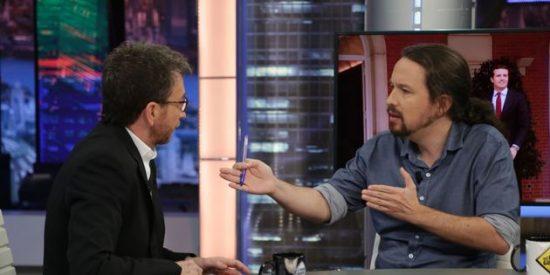 'El Hormiguero': los zarrapastrosos de Podemos cargan como buitres contra Pablo Motos por sacudir con el cáncer a Pablo Iglesias