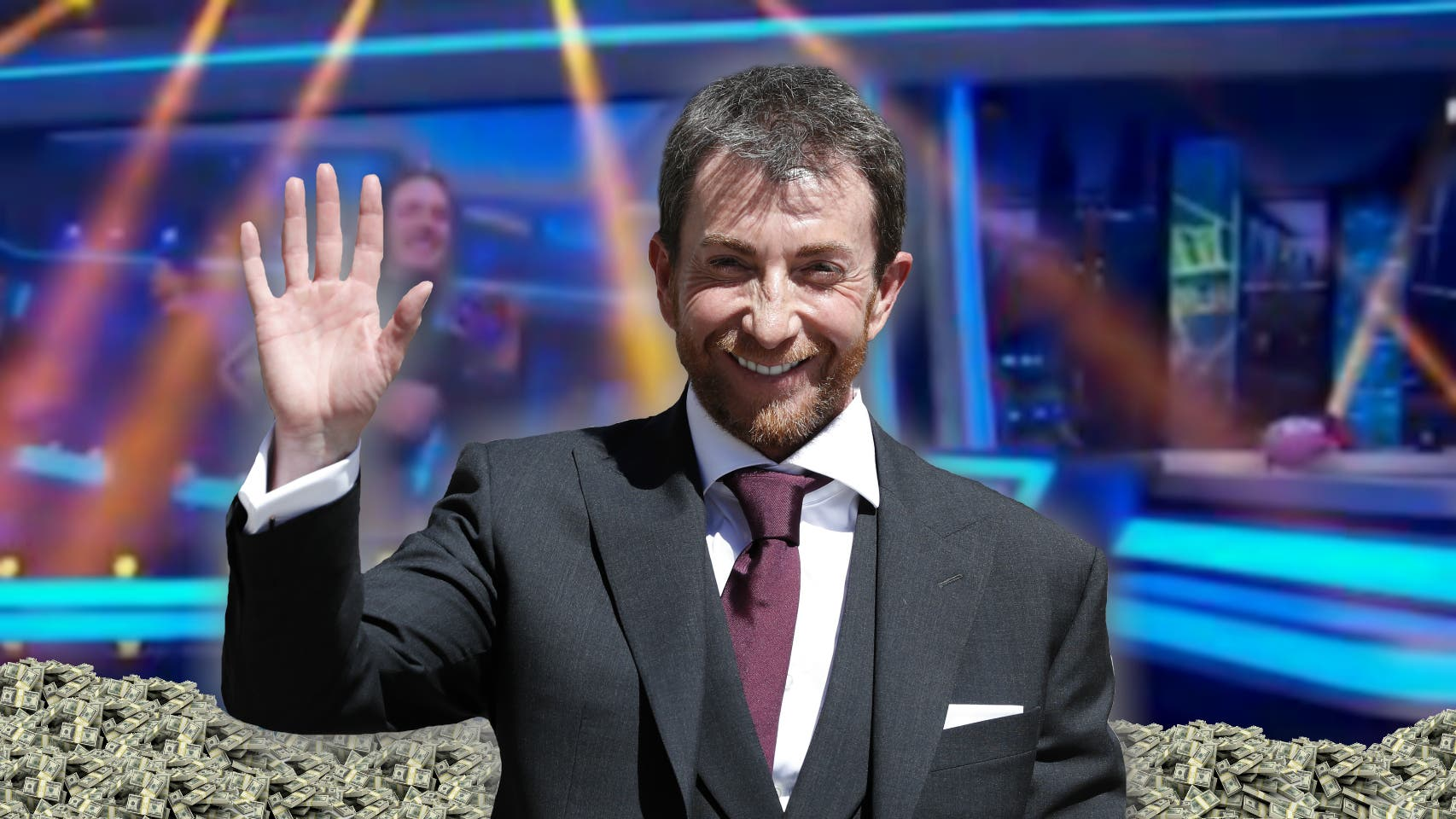 ¿Sabías que Pablo Motos es el presentador que más pasta gana, con 22,5 millones de euros al año?