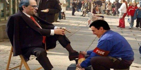 Sánchez se inventa una ronda de presidentes autonómicos para poder pedirle permiso personalmente a Torra y alista la suelta de golpistas