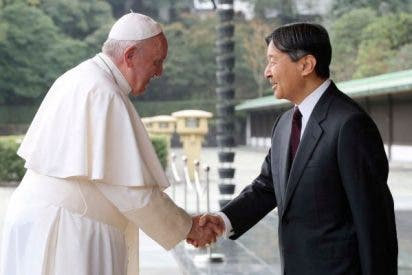 Francisco se reúne en privado con Naruhito en el Palacio Imperial de Tokio