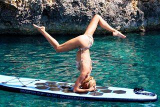 Las 5 posturas de yoga que causan furor en instagram