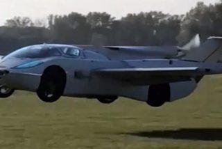 Video viral: Así es Aircar, un coche volador que permitirá evadir los atascos