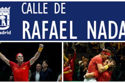 El puntazo de partido que debería marcarse el alcalde de Madrid: Las 10 calles que optan a llevar el ilustre nombre de Rafa Nadal