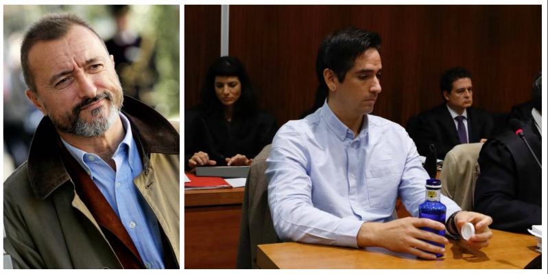 """Arturo Pérez-Reverte sentencia al juez por la ignominiosa sentencia al antisistema Lanza: """"Lo de los tirantes con la bandera española atenúa mucho"""""""