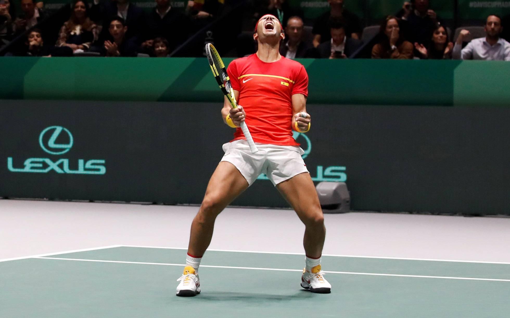 Rafa Nadal describe al tenista ideal: un 'Frankenstein' con partes de Djokovic y Federer