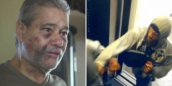 Vídeo Viral: paliza con saña y sin motivo a un veterano de guerra en un ascensor