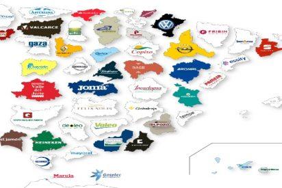 España: Estas son las empresas más importantes en cada provincia