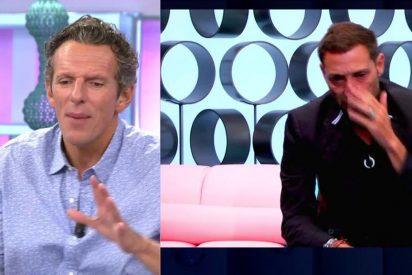 Joaquín Prat destroza al 'llorica' Antonio David Flores y le condena en Telecinco