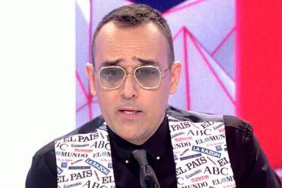 """Hasta Risto Mejide pone a 'parir' a Pedro Sánchez y Pablo Iglesias por su """"contorsionismo político y cinismo"""""""