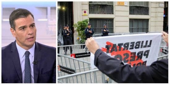 Acoso a la Jefatura: La Policía Nacional teme que el Gobierno Sánchez claudique ante los CDR y arríe la bandera española del centro de Barcelona