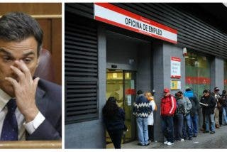 ¡Por esto quiso Sánchez adelantar un día el debate electoral! Desde que 'cum fraude' gobierna se destruyen 17 empleos diarios en España