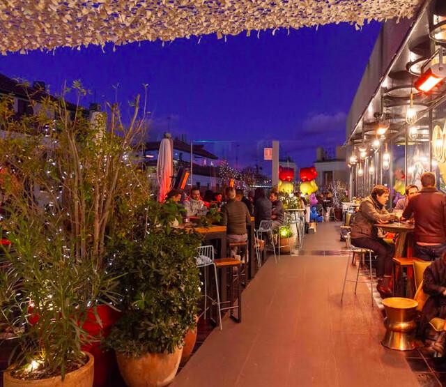 ¡¡En navidad, la terraza del Mercado de San Antón, es parada obligatoria!!!!! - Periodista Digital
