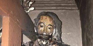 Comienzan los ataques de la izquierda radical contra la Iglesia: profanan la ermita del Santo Sepulcro en Tauste