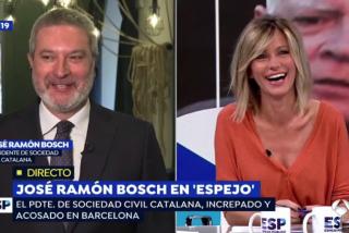 ¡Momentazo! José Ramón Bosch (SCC) confiesa que su mujer es 'indepe' y Susanna Griso se mata de risa
